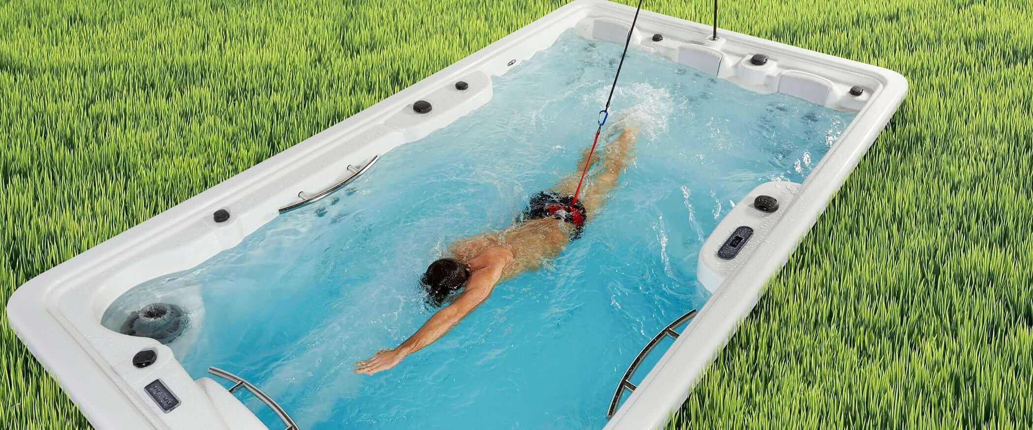 Buy The In Ground Swimspa Fitness Spa Aquavia Spa Uk