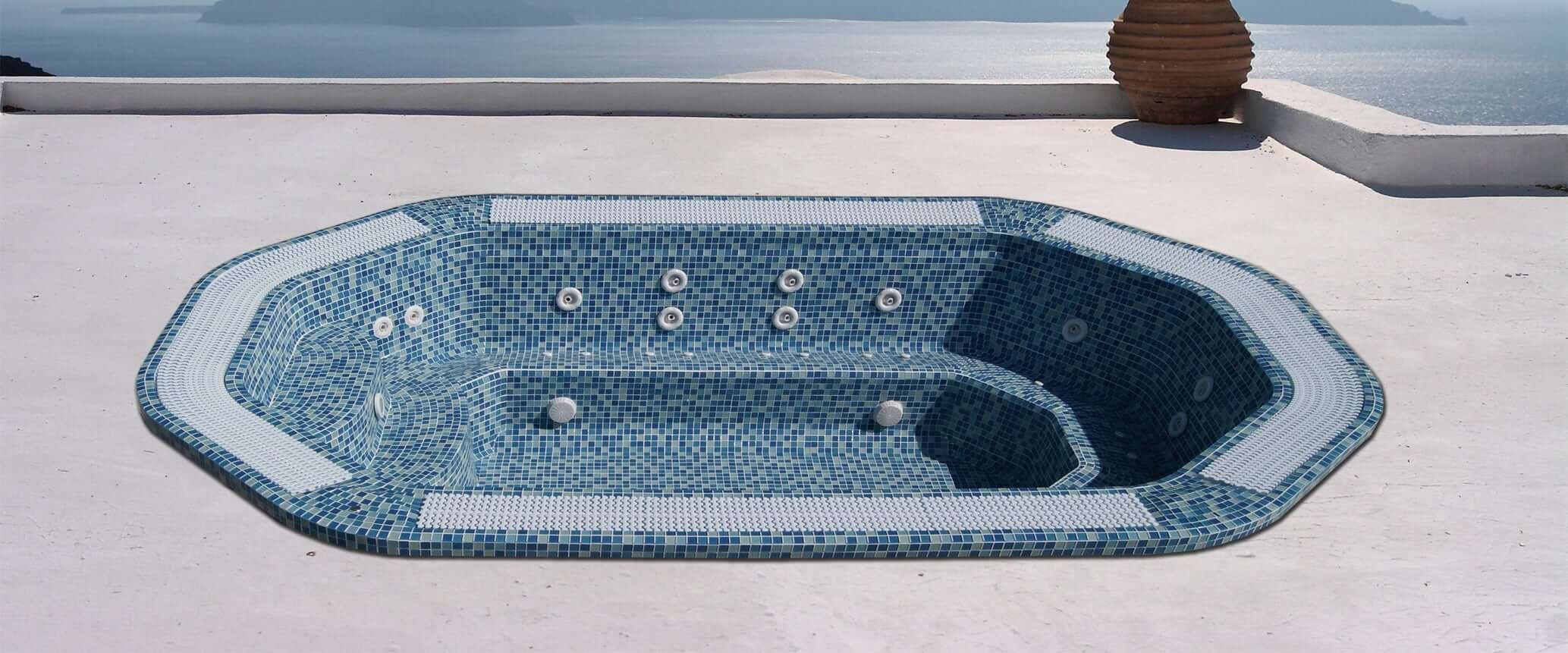 Buy the in-ground hot tub Hawai - Aquavia Spa UK