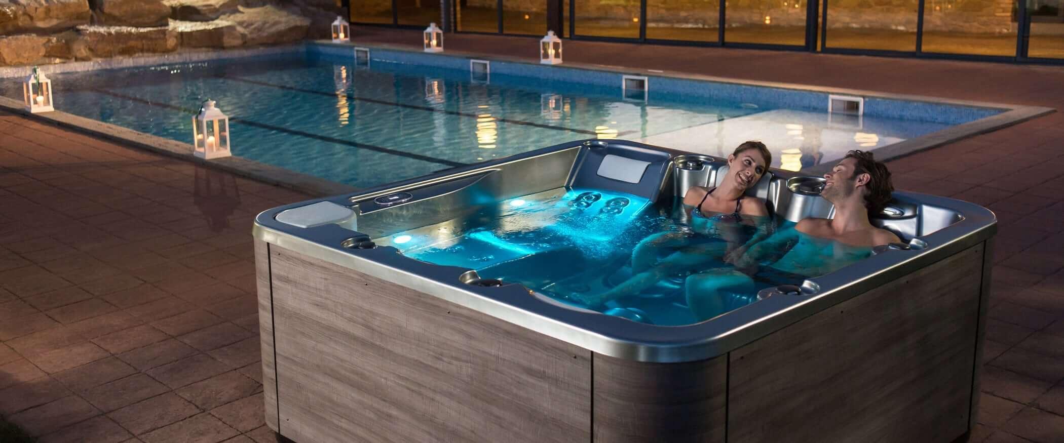 Buy the Premium hot tub Nice - Aquavia Spa UK