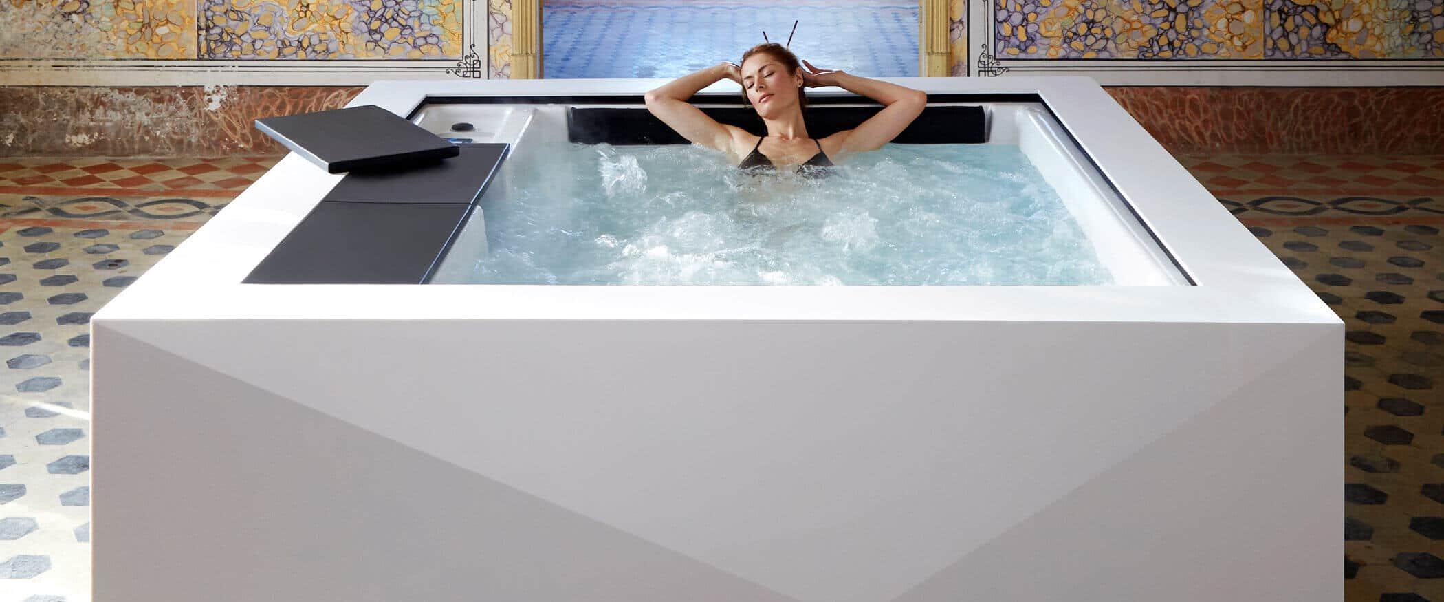 Buy the design hot tub Origami - Aquavia Spa UK