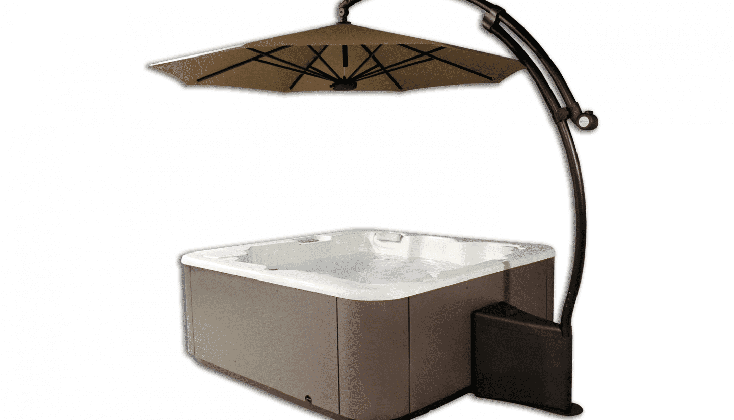 Parasol with LED